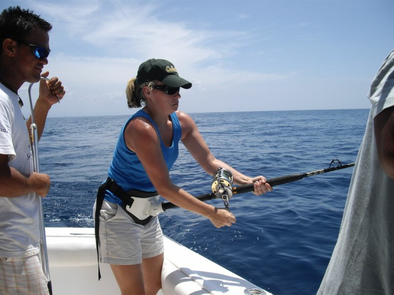 sportfishing in flamingo costa rica - big