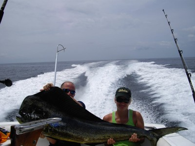 Costa rica fishing charter - small