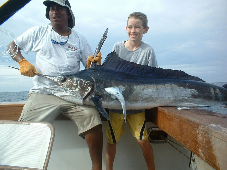 Sport Fish Catch with Costa Rica Fishing Charter based out of Flamingo - Guanacaste Costa Rica - big